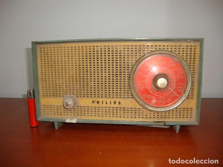 DIFICIL RADIO VALVULAS PHILIPS BAQUELITA VER FOTOS (Radios, Gramófonos, Grabadoras y Otros - Radios de Válvulas)