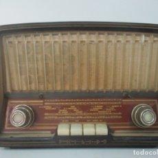 Radios de válvulas: ANTIGUA RADIO - MARCA PHILIPS - MOD, B3 E 72U - BAQUELITA - AÑOS 1957-58. Lote 171338539