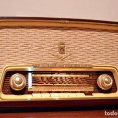 Radios de válvulas: RADIO ANTIGUA GRUNDIG, REVISADA PROFESIONALMENTE. 12 MESES DE GARANTIA. VER VIDEO. Lote 171828359