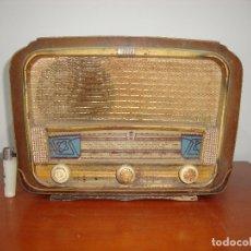 Radios de válvulas: MUY DIFICIL RADIO VALVULAS VALGIFSON DE MADERA VER FOTOS. Lote 172034888