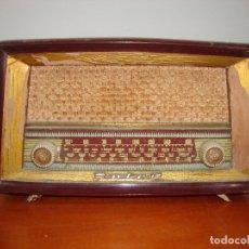 Radios de válvulas: MUY DIFICIL RADIO VALVULAS INTER YUMA BAQUELITA VER FOTOS. Lote 172230253
