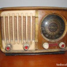 Radios de válvulas: MUY DIFICIL RADIO VALVULAS WOLEX MADERA VER FOTOS. Lote 172232935