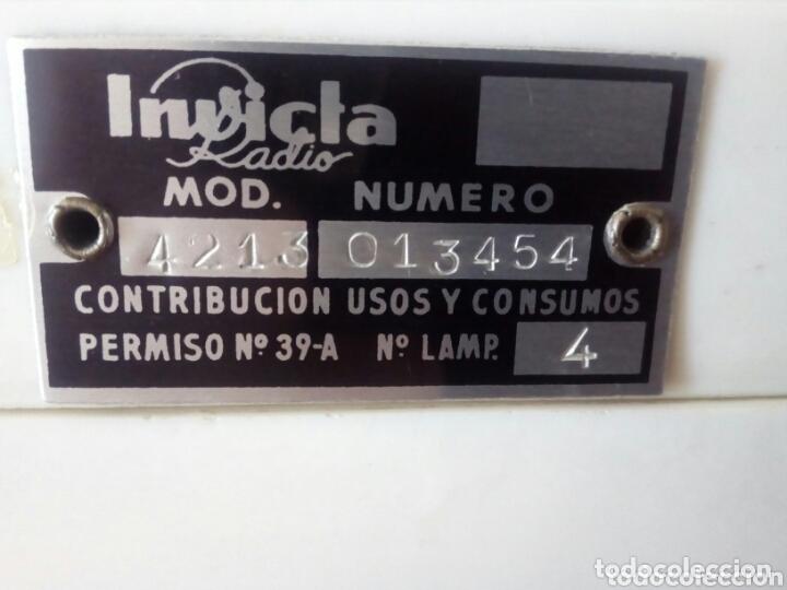 Radios de válvulas: Radio Invicta - Foto 6 - 172404808