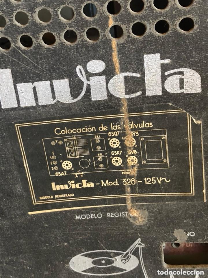 Radios de válvulas: Bonita radio marca invicta - Foto 7 - 172612574