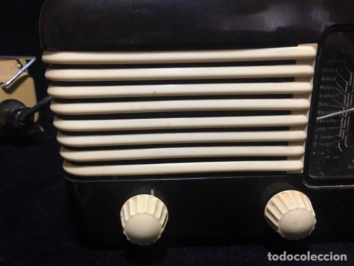 Radios de válvulas: RADIO DE BAQUELITA TESLA 306 U TALISMAN, - Foto 4 - 172615118