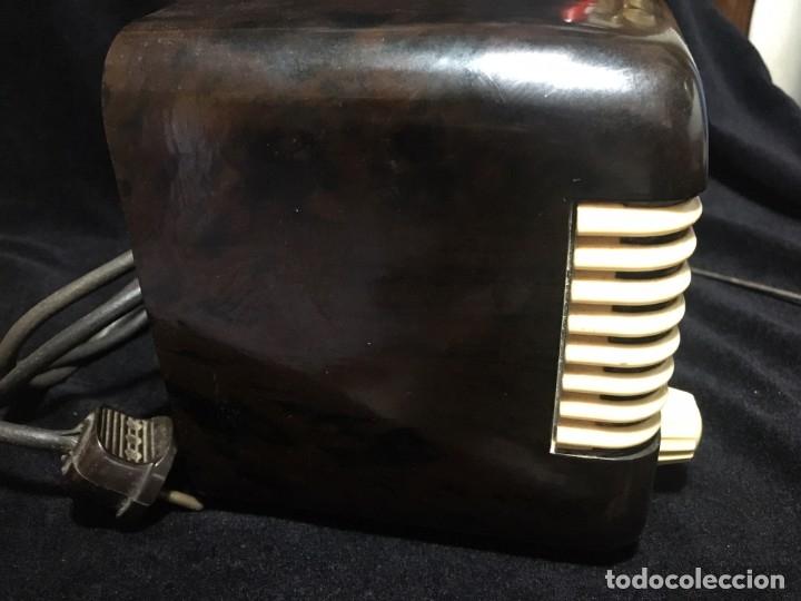 Radios de válvulas: RADIO DE BAQUELITA TESLA 306 U TALISMAN, - Foto 5 - 172615118