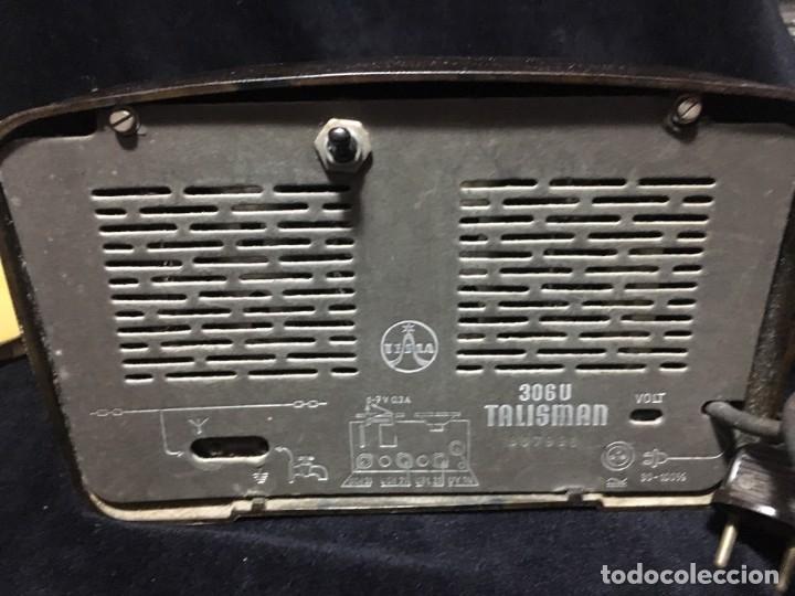 Radios de válvulas: RADIO DE BAQUELITA TESLA 306 U TALISMAN, - Foto 7 - 172615118