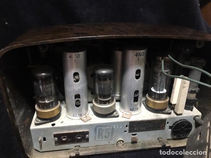 Radios de válvulas: RADIO DE BAQUELITA TESLA 306 U TALISMAN, - Foto 8 - 172615118