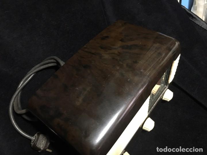 Radios de válvulas: RADIO DE BAQUELITA TESLA 306 U TALISMAN, - Foto 9 - 172615118