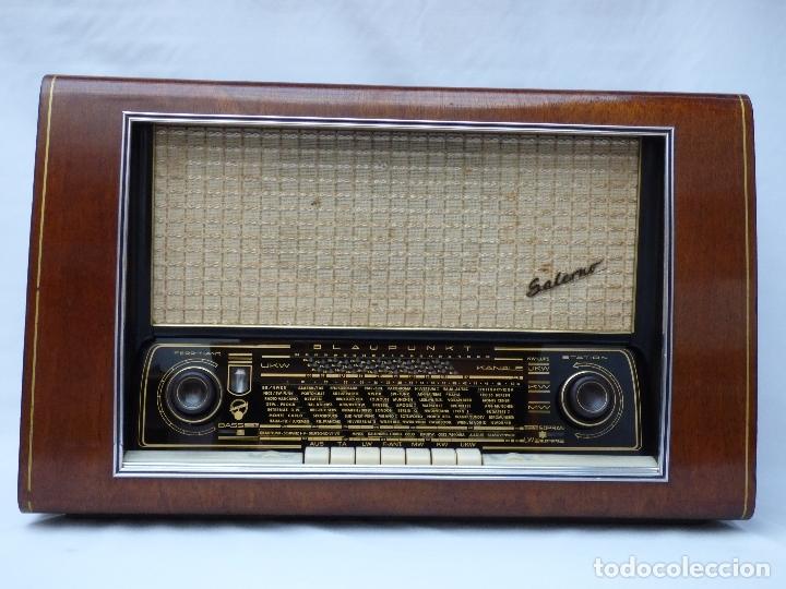 Radios de válvulas: Antigua radio de válvulas BLAUPUNKT, modelo SALERNO buen estado, funcionando (ver vídeo) - Foto 3 - 173235855