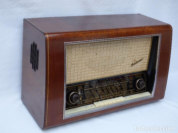 Radios de válvulas: Antigua radio de válvulas BLAUPUNKT, modelo SALERNO buen estado, funcionando (ver vídeo) - Foto 5 - 173235855