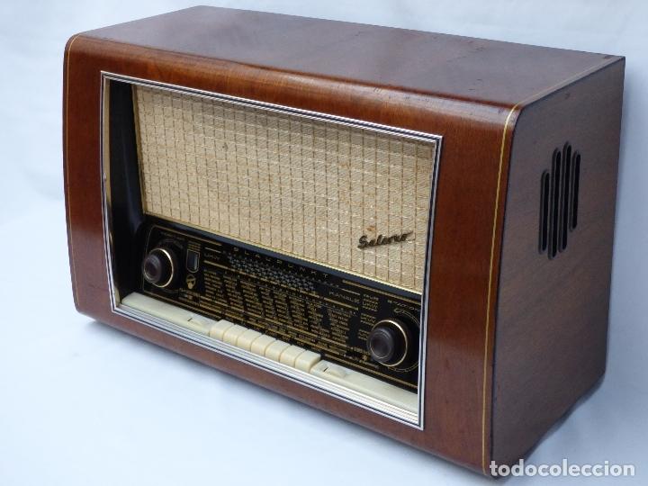Radios de válvulas: Antigua radio de válvulas BLAUPUNKT, modelo SALERNO buen estado, funcionando (ver vídeo) - Foto 6 - 173235855