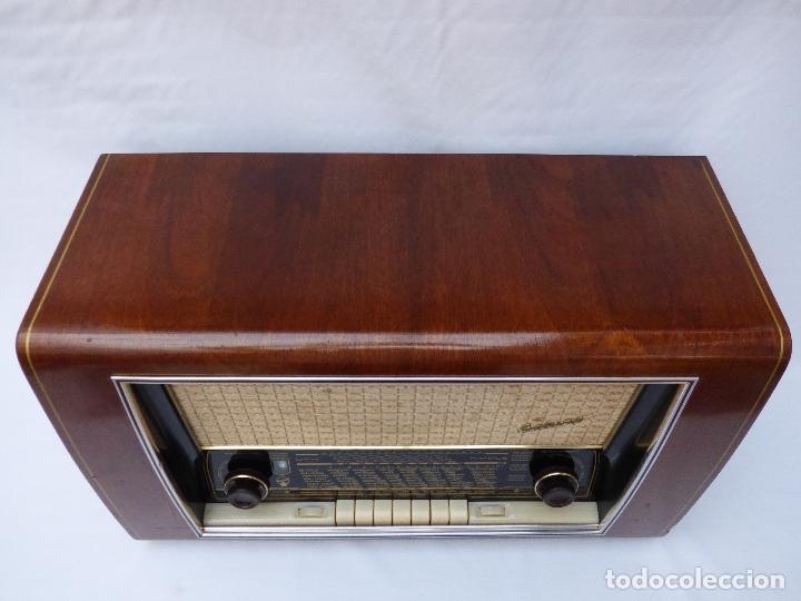Radios de válvulas: Antigua radio de válvulas BLAUPUNKT, modelo SALERNO buen estado, funcionando (ver vídeo) - Foto 7 - 173235855