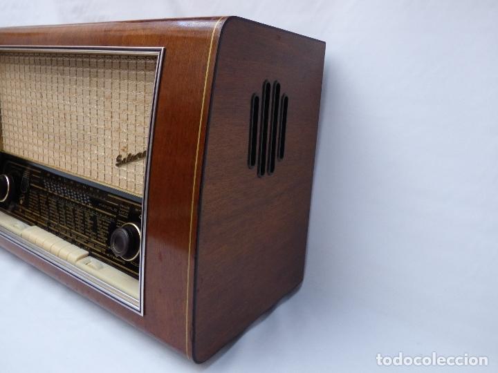 Radios de válvulas: Antigua radio de válvulas BLAUPUNKT, modelo SALERNO buen estado, funcionando (ver vídeo) - Foto 9 - 173235855