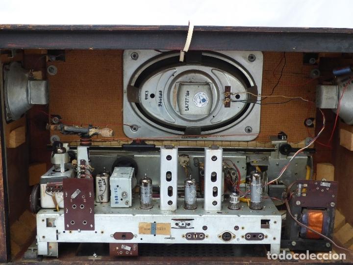 Radios de válvulas: Antigua radio de válvulas BLAUPUNKT, modelo SALERNO buen estado, funcionando (ver vídeo) - Foto 13 - 173235855