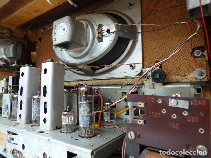 Radios de válvulas: Antigua radio de válvulas BLAUPUNKT, modelo SALERNO buen estado, funcionando (ver vídeo) - Foto 14 - 173235855