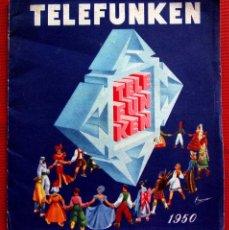Radios de válvulas: CATÁLOGO PUBLICITARIO RADIO TELEFUNKEN. AÑO: 1950.. Lote 173665433