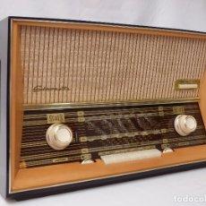 Radios de válvulas: ANTIGUA RADIO DE VÁLVULAS QUELLE, STEREO, COMO NUEVA, FUNCIONANDO CON GRAN SONIDO (VER VÍDEO). Lote 173840933