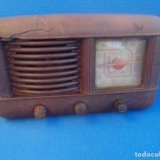 Radios de válvulas: ANTIGUA RADIO DE LA MARCA INTER. Lote 173864329
