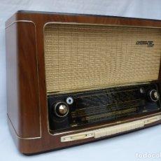 Radios de válvulas: ANTIGUA RADIO DE VÁLVULAS GRUNDIG, 5040W COMO NUEVA, FUNCIONANDO CON GRAN SONIDO (VER VÍDEO). Lote 173965692