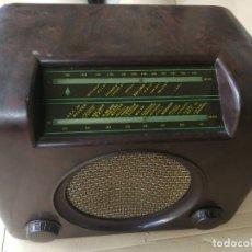 Radios de válvulas: RADIO ALEMAN 2ª GUERRA MUNDIAL (DESCONOZCO MARCA) FUNCIONANDO. Lote 175183338