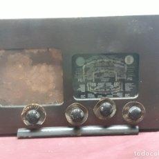 Radios de válvulas: APARATO DE RADIO.... Lote 175818299