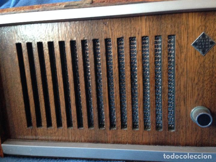 Radios de válvulas: RADIO VINTAGE TELEFUNKEN INTERMEZZO A-2747 FM. AÑOS 60.FUNCIONA, - Foto 4 - 175824430