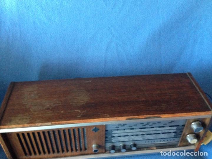 Radios de válvulas: RADIO VINTAGE TELEFUNKEN INTERMEZZO A-2747 FM. AÑOS 60.FUNCIONA, - Foto 5 - 175824430