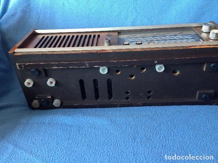 Radios de válvulas: RADIO VINTAGE TELEFUNKEN INTERMEZZO A-2747 FM. AÑOS 60.FUNCIONA, - Foto 6 - 175824430