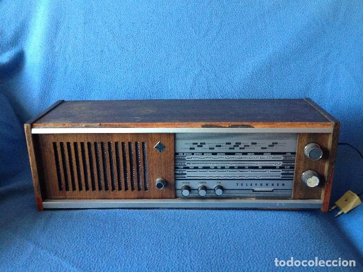 Radios de válvulas: RADIO VINTAGE TELEFUNKEN INTERMEZZO A-2747 FM. AÑOS 60.FUNCIONA, - Foto 13 - 175824430
