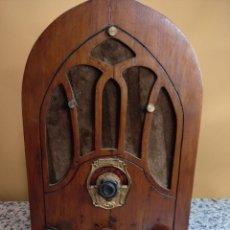Radios de válvulas: RADIO CAPILLA VÁLVULAS. Lote 175974873