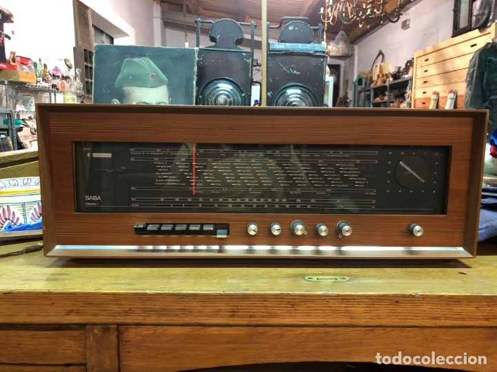 RADIO A VÁLVULAS SABA STEREO I MOD. SRI-18 (1965) FUNCIONA (Radios, Gramófonos, Grabadoras y Otros - Radios de Válvulas)