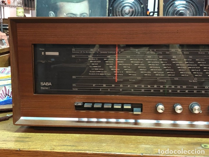 Radios de válvulas: RADIO A VÁLVULAS SABA STEREO I MOD. SRI-18 (1965) FUNCIONA - Foto 2 - 176302843