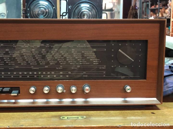 Radios de válvulas: RADIO A VÁLVULAS SABA STEREO I MOD. SRI-18 (1965) FUNCIONA - Foto 3 - 176302843