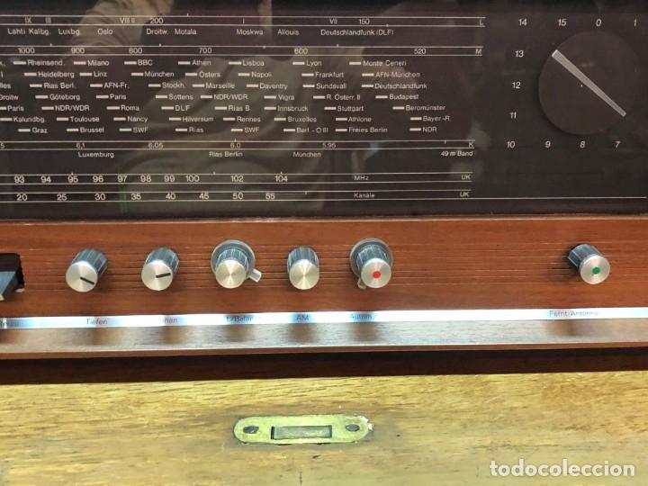 Radios de válvulas: RADIO A VÁLVULAS SABA STEREO I MOD. SRI-18 (1965) FUNCIONA - Foto 5 - 176302843