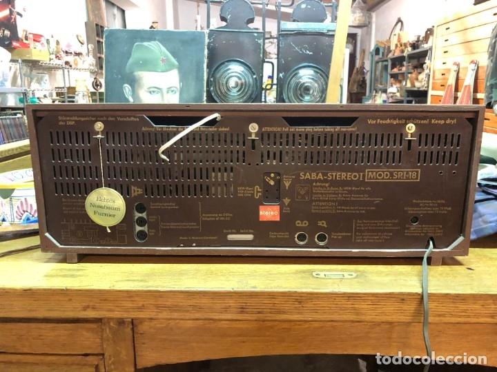 Radios de válvulas: RADIO A VÁLVULAS SABA STEREO I MOD. SRI-18 (1965) FUNCIONA - Foto 8 - 176302843