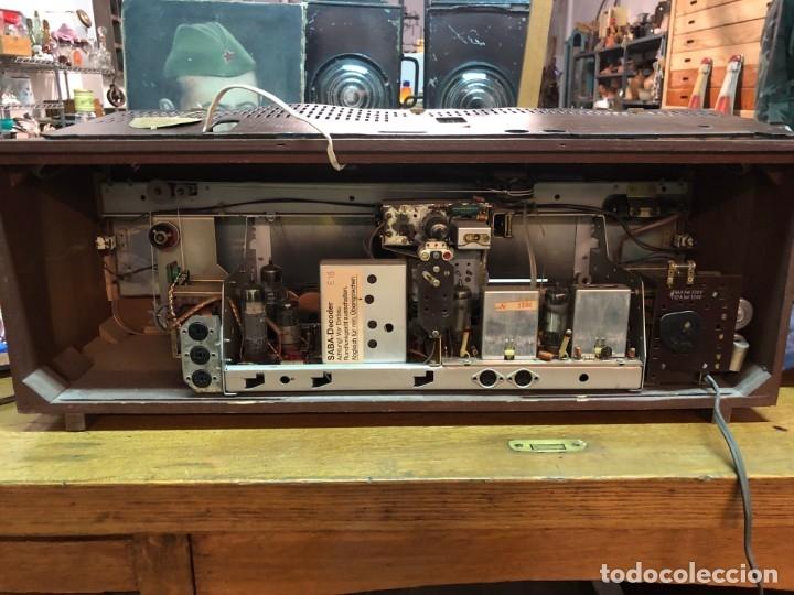 Radios de válvulas: RADIO A VÁLVULAS SABA STEREO I MOD. SRI-18 (1965) FUNCIONA - Foto 9 - 176302843