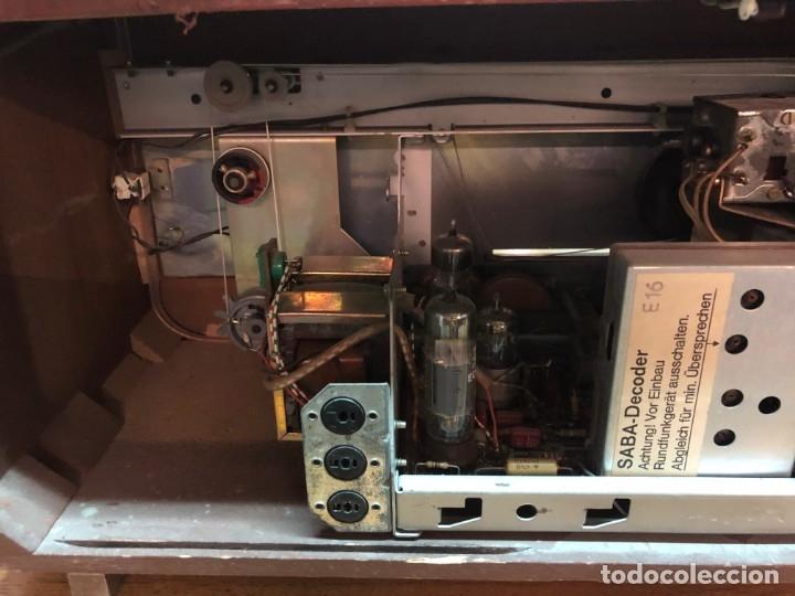 Radios de válvulas: RADIO A VÁLVULAS SABA STEREO I MOD. SRI-18 (1965) FUNCIONA - Foto 10 - 176302843