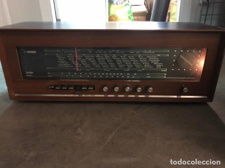 Radios de válvulas: RADIO A VÁLVULAS SABA STEREO I MOD. SRI-18 (1965) FUNCIONA - Foto 12 - 176302843