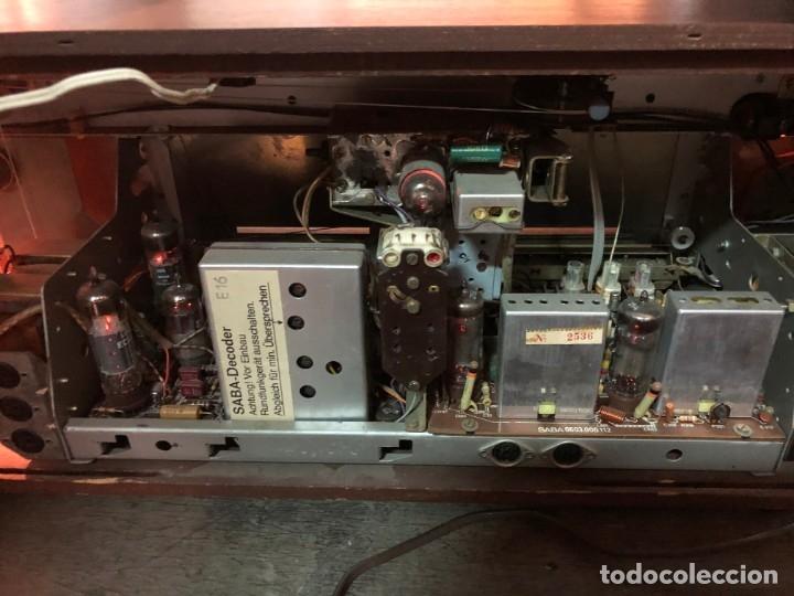 Radios de válvulas: RADIO A VÁLVULAS SABA STEREO I MOD. SRI-18 (1965) FUNCIONA - Foto 13 - 176302843