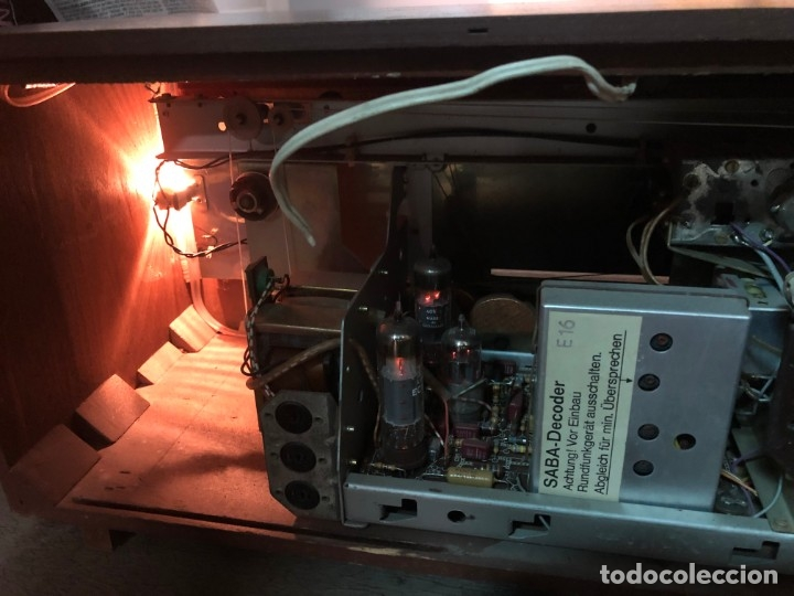 Radios de válvulas: RADIO A VÁLVULAS SABA STEREO I MOD. SRI-18 (1965) FUNCIONA - Foto 14 - 176302843