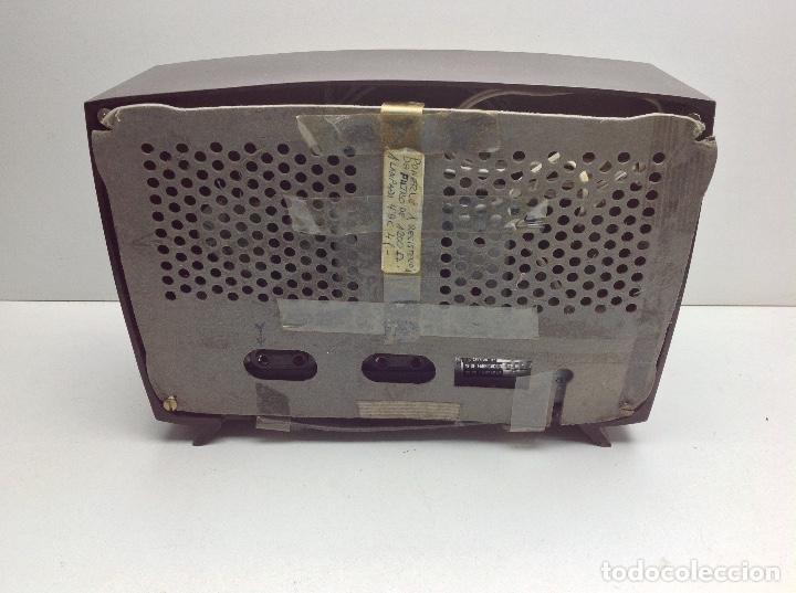 Radios de válvulas: RARA Y PEQUEÑA RADIO MARCA VALPOR RADIO - MODELO DE BAQUELITA - NO PROBADA - Foto 10 - 176476329