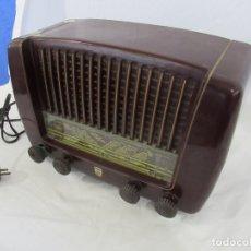 Radios de válvulas: ANTIGUA RADIO PHILIPS BE 321 A. Lote 176574952