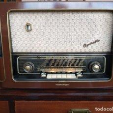 Rádios de válvulas: RADIO TELEFUNKEN OPERETTE 6 ¡ESPECTACULAR! (VER VÍDEO). Lote 177860262