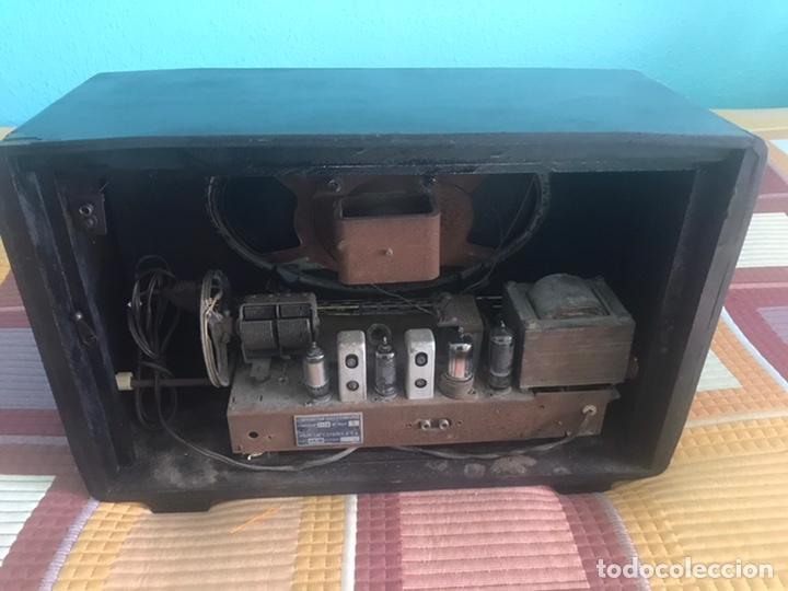 Radios de válvulas: RADIO MARCONI VALVULAS FUNCIONANDO A 125 VOLTIOS - Foto 2 - 178360606