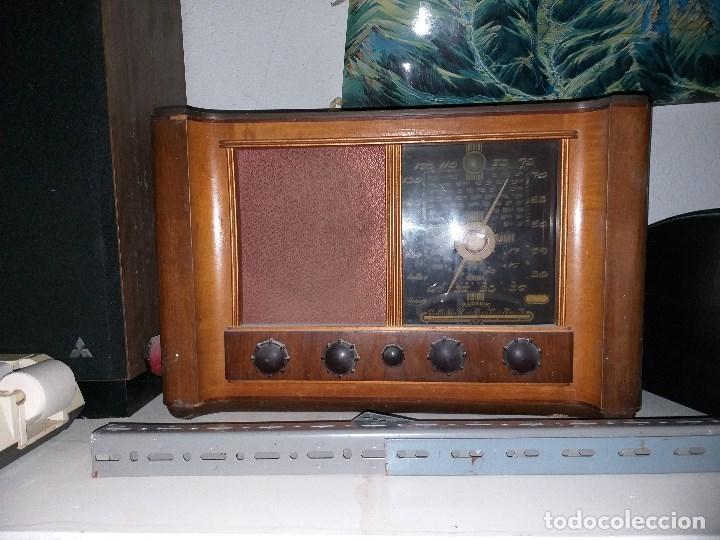 RADIO INTER KOMET 840 (Radios, Gramófonos, Grabadoras y Otros - Radios de Válvulas)