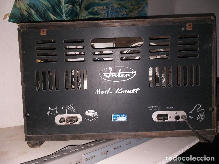 Radios de válvulas: Radio Inter Komet 840 - Foto 2 - 178606425