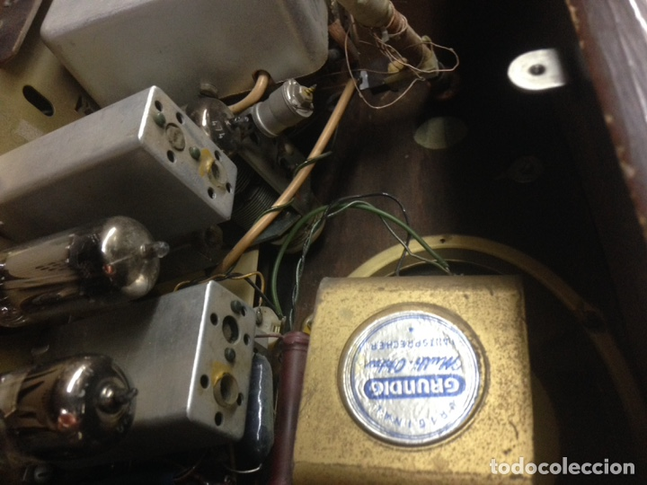 Radios de válvulas: Radio grundig - Foto 21 - 178759511
