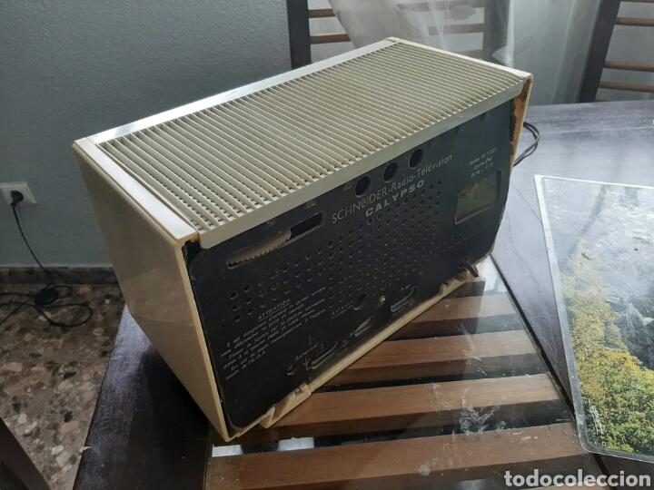 RADIO DE VALVULAS SCHNEIDER (Radios, Gramófonos, Grabadoras y Otros - Radios de Válvulas)
