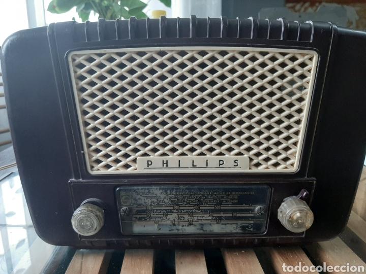 RADIO DE VALVULAS PHILIPS U-352 (Radios, Gramófonos, Grabadoras y Otros - Radios de Válvulas)